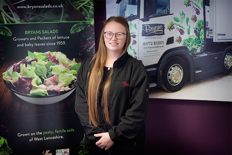 Bryans Salads quality assurance manager