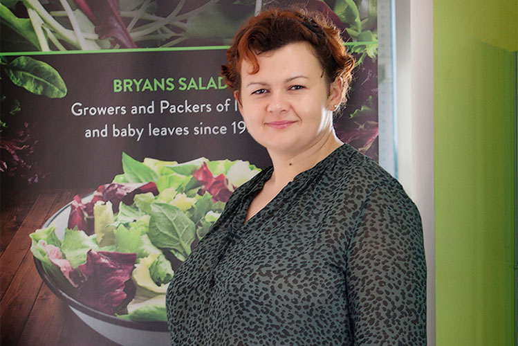 Bryans Salads resource operations manager